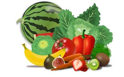 Paragraph writing 0n, Important of Fruits and Vegetables in Our Daily Diet