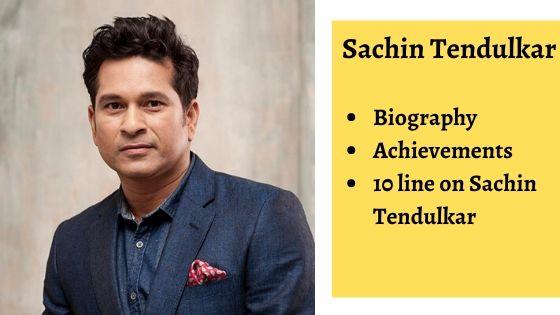 Sachin Tendulkar Biography, achivement, 10 on sachin tendulkar